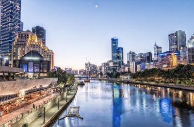 Obraz Melbourne, Victoria - Australia. Piękne miasto skyline