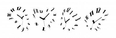 Obraz melting watches