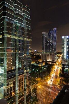 Obraz Miami Brickell Avenue