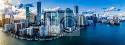 Obraz Miami Skyline