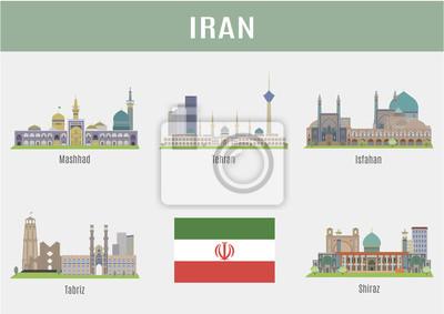 Miasta w Iranie