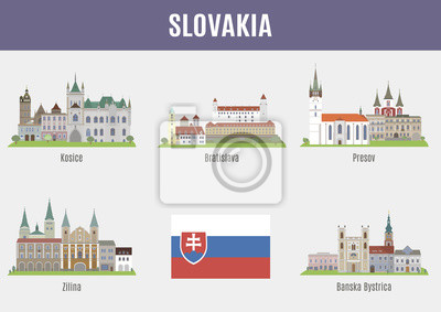 Miasta w Słowacji