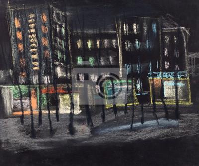 Obraz Miasto nocą