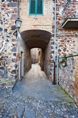 Obraz Miasto w Toskanii