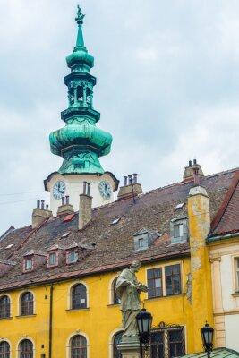 Michael s Gate in Bratislava, Slovakia.