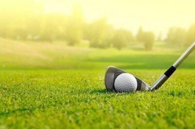 Obraz Miejmy Golf
