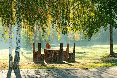 Obraz Miejsce odpoczynku w parku
