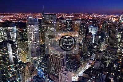 Miejskie panoramę miasta z lotu ptaka