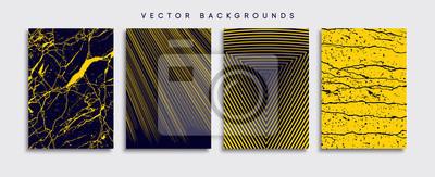 Obraz Minimal Vector cover designs. Future Poster template.