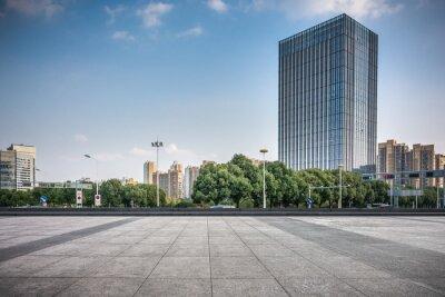 Obraz modern skyscrapers in modern city