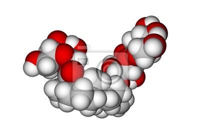 Molekularna struktura stewiozyd