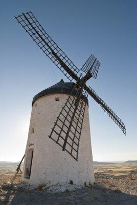 Obraz Molino de Viento en La Mancha, España.