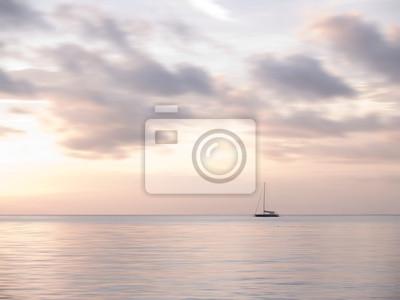 Obraz Morza Andamańskiego i łodzi