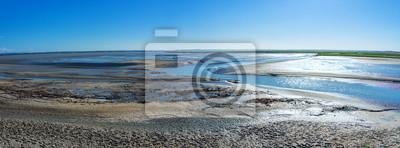 Obraz Morze Wattowe w Bretanii