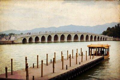 Obraz Most 17 łuków w Pekinie - Summer Palace
