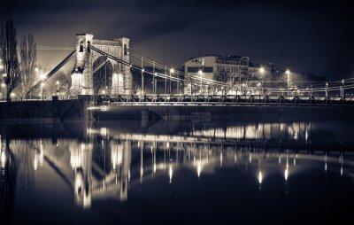 Obraz Most Grunwaldzki we Wrocławiu