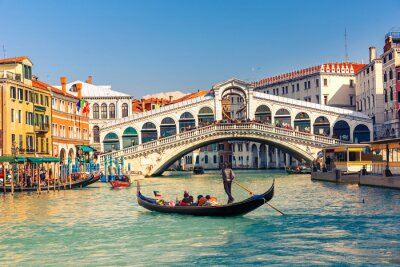 Obraz Most Rialto w Wenecji