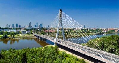 Obraz Most w Warszawie nad Wisłą