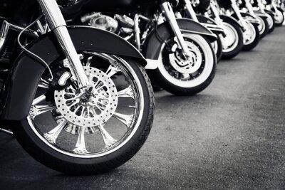 Obraz Motocykle z rzędu