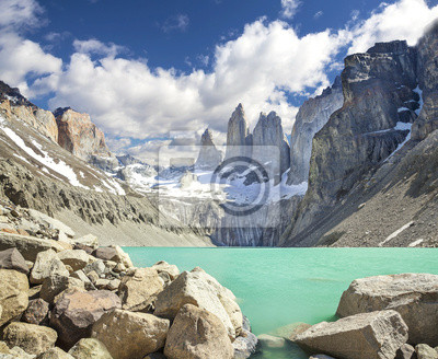 Mounatains Torres del Paine, Patagonia, Chile