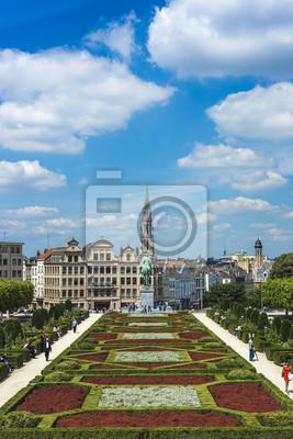 Obraz Mount of the Arts w Brukseli, Belgia.