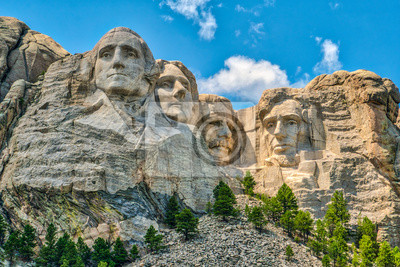 Obraz Mount Rushmore, iconic landmark