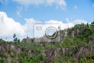 Mountain zadzwonić Ranong Canyon w Ranong, Tajlandia