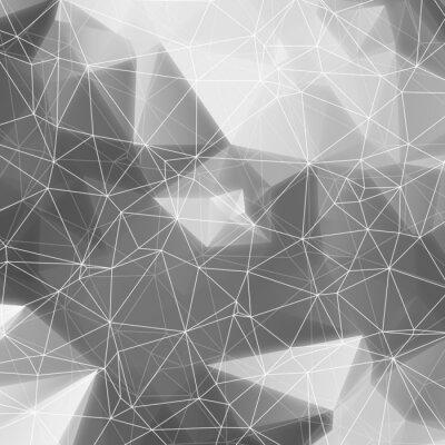 Obraz Mozaika Polygon tle