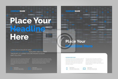 Można dostosować do raportu rocznego, magazynu, plakatu, prezentacji korporacyjnej.