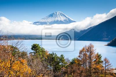 Obraz Mt Fuji widok z jeziora