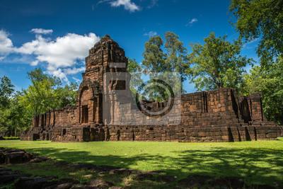 Mueang Śpiewa Dziejowego parka, Kanchanaburi Tajlandia
