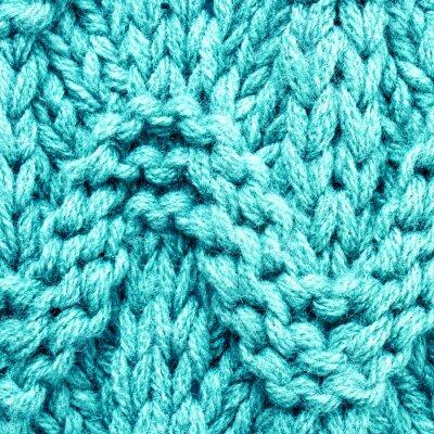Obraz Multicolor tkaniny wełnianej dzianiny tekstury. Materiał o wysokiej rozdzielczości