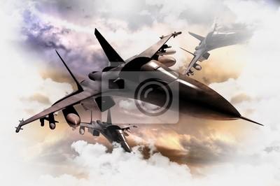 Myśliwce w akcji