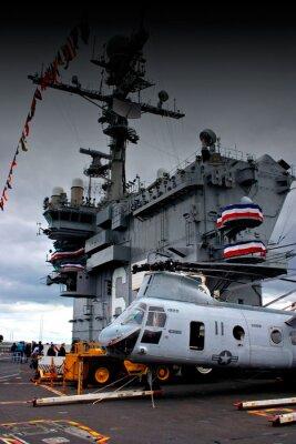 Obraz na pokładzie USS John F. kennedy