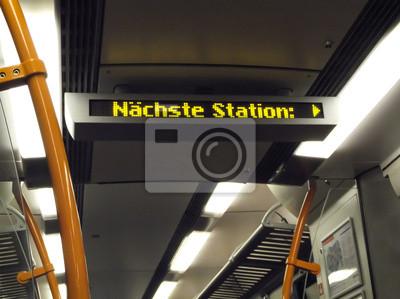 Nächste Station Ankündigung Straßenbahn