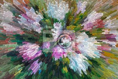 Obraz Nadal Obraz Olejny Obraz życia Tekstury Róży Impresjonizm