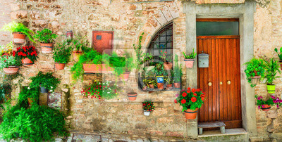 Najpiękniejsze wsie serii Włochy - Spello w Umbrii z