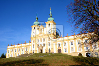Najważniejszym zabytkiem tego miasta jest barokowy Kościół Nawiedzenia. Olomouc. Republika Czeska. 2015.