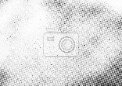 Obraz Nakładka tekstury wektor subtelne półtonów. Monochromatyczny abstrakt splattered tło.