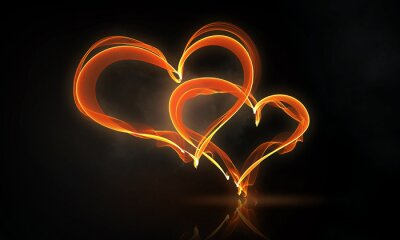 Obraz Namiętny miłości serc