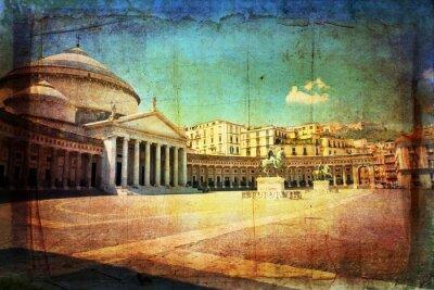 Obraz Napoli, Piazza del Plebiscito