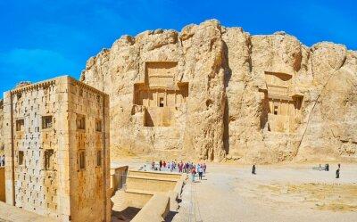 Naqsh-e Rustam archeologiczne, Iran