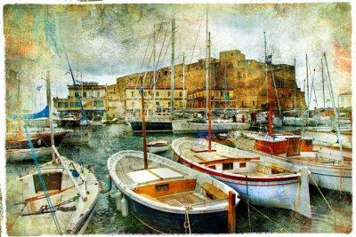 Obraz Neapol, Włochy, artystyczny obraz
