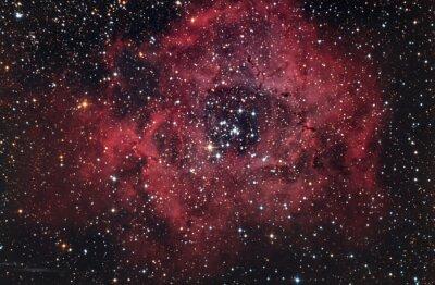 Obraz Nebulosa Rossa nel cielo Notturno