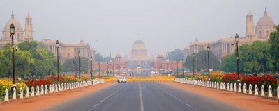 Obraz NEW DELHI, INDIA - April 26: Rashtrapati Bhavan is the official home of the President of India on April 26, 2019, New Delhi, India.