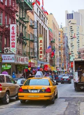 Obraz NEW YORK - 18 kwietnia: Ulica w Nowym Jorku