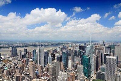 Obraz New York aerial view - Midtown Manhattan cityscape.