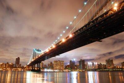 Obraz New York City Manhattan Bridge