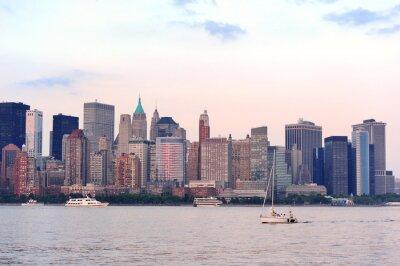 Obraz New York City Manhattan skyline downtown