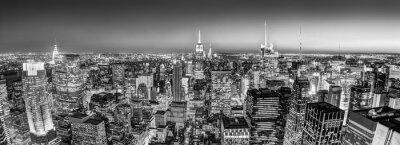 Obraz New York City Manhattan skyline downtown.